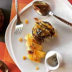 Mango and sticky rice is the best dessert on earth. #mango #dessert #thailand #healthyfood #islandlife