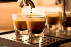 Do you need an extra kick to wake up? Have an espresso and you will feel awake and ready to start your day. #WakeUp #espresso #coffee