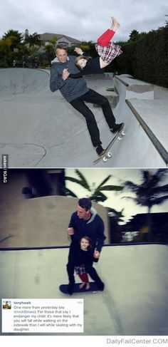 Damn, son, you been burned by Tony Hawk!