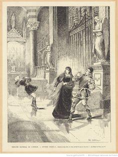 Théâtre national de l'Odéon, Severo Torelli, drame en cinq actes, en vers, de M. François Coppée : Le Dôme de Pise, acte V : [estampe] / Paul Destez [sig.]