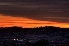 il #tramonto su #PotenzaPicena
