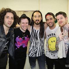 Fall Out Boy with Steve Aoki