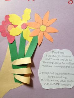 Mothers Day crafts!