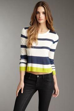 Isla Striped Pullover