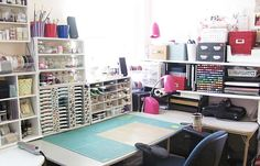 My Scrapping Desk by havonfamily - Cards and Paper Crafts at Splitcoaststampers