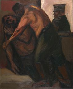 José Clemente Orozco (Mexican, 1883-1949), Wounded Soldier, 1930