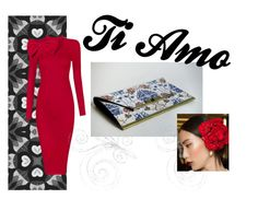 Ti Amo by info-pursed on Polyvore featuring Posh Girl, Dolce&Gabbana, women's clothing, women's fashion, women, female, woman, misses and juniors