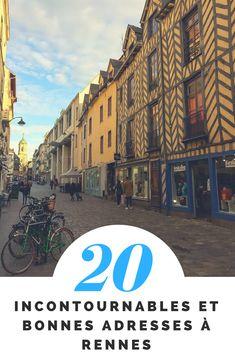 Visiter Rennes en 20 lieux incontournables (et toujours de bonnes adresses en plus!) - Rennes, Bretagne, France. #voyage #bretagne #rennes #france #europe