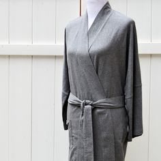 The perfect lightweight kimono-style robe in super soft organic cotton to lounge in. Fairtrade certified organic cotton available in three soothing colors. Vegan Clothing, Love Clothing, Ethical Clothing, Fair Trade Clothing, Cotton Kimono, Kimono Fashion, Organic Cotton, Clothes For Women, Kimono Style