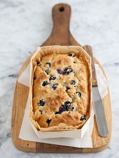 Blueberry- Oatmeal Bread #breakfast