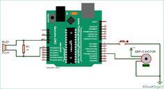Secret Knock Detecting Door Lock using Arduino circuit Arduino Circuit, Smart Door Locks, Buzzer, Electrical Engineering, Smart Home, Knock Knock, Home Projects, Floor Plans, 3d Printer