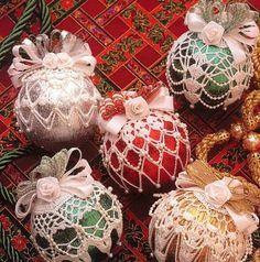 Boże Narodzenie - bombki - Urszula Niziołek - Álbuns da web do Picasa.. Christmas ornaments and diagrams!