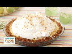 Coconut Key Lime Pie - Everyday Food with Sarah Carey