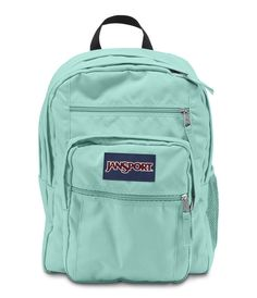 JanSport Big Student Backpack - Aqua Dash Mk Bags 1cf346633aba0