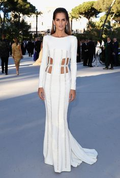 Izabel Goulart in Zuhair Murad Couture - 2016 Cannes amfAR Cinema Against AIDS Gala Red Carpet: See the Best Looks | StyleCaster