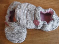 Upcycled shoes from sweater @Bree Tichy Tichy Lazenby Watson