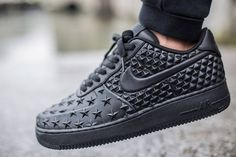 Nike Air Force 1 LV8 VT Stars Black