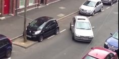 The World's Worst Attempt At Parallel Parking via www.bored.com