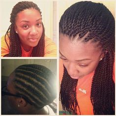 Crochet Hair Los Angeles : 100 Crocheted Senegalese twists I did not pre twist the hair