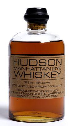 Hudson Whiskey. I love the resurgence of rye whiskey