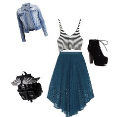 runway rebel by foreverfearliss on Polyvore featuring polyvore fashion style VILA TIBI