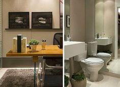 mesa escritorio banheiro