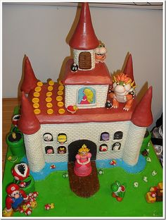 Amazing Mario Gingerbread House