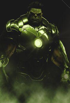 Hulk / Iron Man suit. Kind of redundant, wouldn't you say?