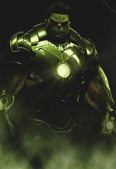 Hulk / Iron Man suit. Kind of redundant, wouldn't you say?