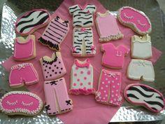Pajama Cookies #sleepover #cookies