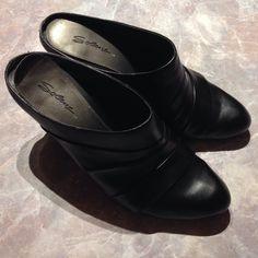 "Selling this ""Black clog slip on heels"" in my Poshmark closet! My username is: lovelythorns. #shopmycloset #poshmark #fashion #shopping #style #forsale #Shoes"