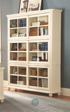 Hanna White Bookcase