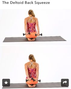 Arm/back workout