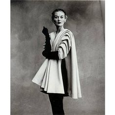 Balenciaga Mantle Coat, Paris 1950