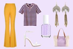 Brights and pastels for warm-weather outings