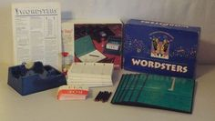 1991 Wordsters Game The Great Little Word Game #MiltonBradley