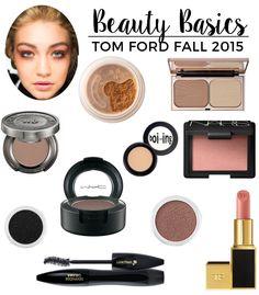 Recreate The Look Tom Ford RTW Fall 2015 | Beauty Basics