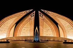 Monumento em Islamabad, Paquistão