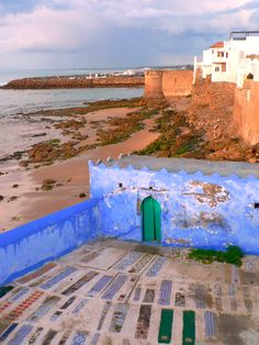 Cementary on the beach...  For all your cultural trips in Morocco:  www.asilahventures.com
