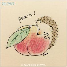 1250 桃 おいしいね peach