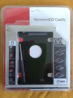 secondo hard disk  su portatile,notebook,second hdd Caddy  #117