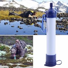 100% Brand new and high quality!  It is the most advanced, compact, ultralight personal water filter available.  It contains no chemicals or iodinated resin, no batteries and no moving parts to break or wear out.  It features a high flow rate.  Perfect for the ultralight backpacker, traveler, boy scout, hunter, and especially for emergency preparedness.  Drink directly from streams, or from a wide-mouth water bottle  Removes a minimum of 99.9999% of waterborne bacteria (>LOG 6 reduction)…