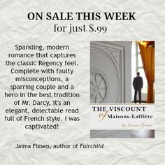On sale this week for .99! (June 6-13, 2016). This clean romance is a fun, light read. A sure win for those who love France! Kindle deals & bargain books.