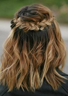 awesome 15 Cool Braids for Short Hair