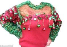DIY Ugly Christmas Sweater Ideas | jingle-all-the-way-sweater