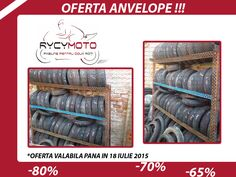 OFERTA SPECIALA !! Anvelope pentru scutere, maxiscutere si motociclete !!! Tel : 0748/544115
