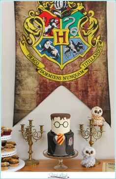There are those who would accuse me of going overboard when it comes to parties... that may or may not be true. But I can tell you that there was a whole lot of love and work that was put into this Harry Potter birthday party for our son Wesley! And the way I look