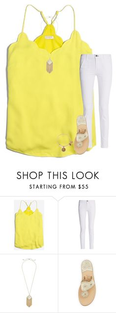 """""""Work was hectic, but worth it"""" by stripedprep ❤ liked on Polyvore featuring J.Crew, rag & bone, Kendra Scott, Jack Rogers and Alex and Ani"""