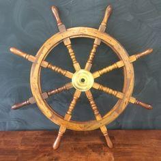 Tripod Table Lamp, Ship Wheel, Event Decor, Nautical, Wedding Decorations, Decor Ideas, Events, Navy Marine, Wedding Decor