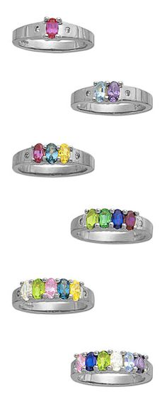 Mother's ring....my children are my two favorite colors!